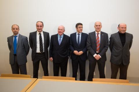 Julián Pando, Jon Landeta, Jose Antonio Ardanza, Patxi López, Iñaki Goirizelaia, Juan José Ibarretxe