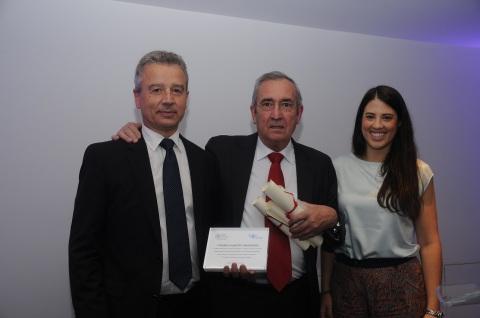 Entrega en madrid del I Premio Alberto Masegosa