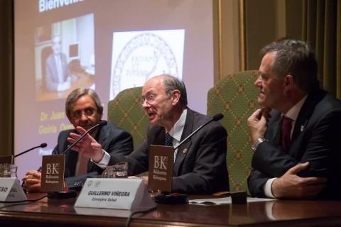 Juan Goiria, Ibon Areso y Guillermo Viñegra