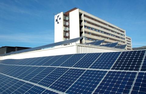 PANELES SOLARES Hospital Galdakao-Usansolo