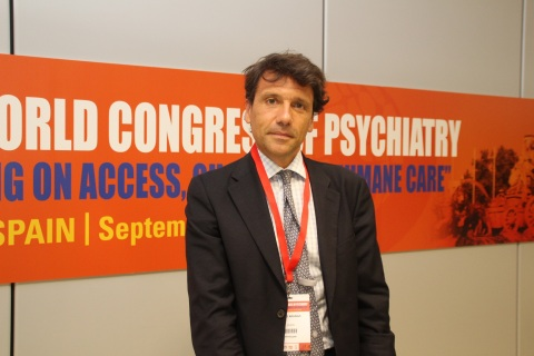 El profesor Celso Arango director científico del Cibersam