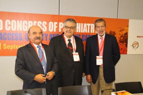 Miguel Gutiérrez, Pedro Ruiz y Jerónimo Sáiz