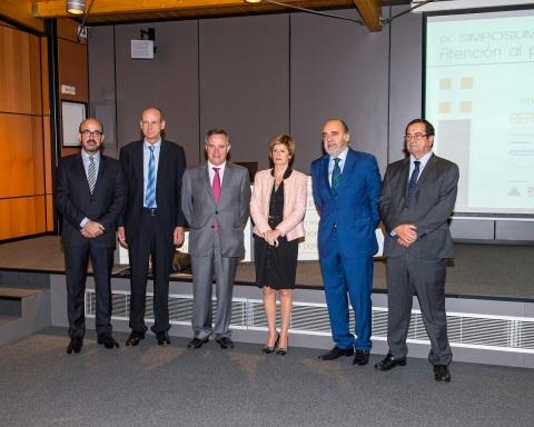 José García Navarro, Mitxel Duñabeitia, Guillermo Viñegra, Pilar Ardanza, Iñaki Artaza e Iñigo Pombo