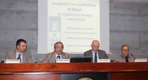 Guillermo Quindós, Juan Goiria, Aitzol Asla y Ricardo Franco Vicario