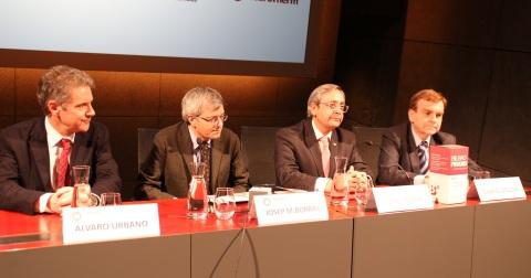 Álvaro Urbano, Josep M Borràs, Juan I Goiria y Gabriel M Otalora