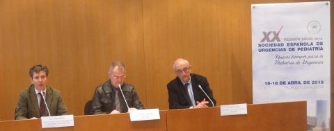 De izq. a dcha. Javier Benito, Antón Castaño y Santiago Mintegui