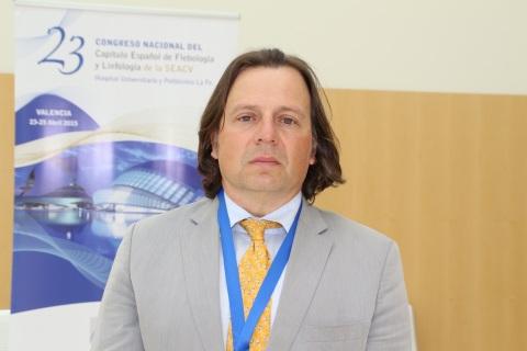 El doctor Fidel Fernández Quesada, nuevo presidente del Capítulo Español de Flebología y Linfología de la SEACV