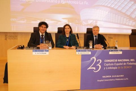 Jean-Paul Belgrado, Isabel Forner y Sandro Michelini
