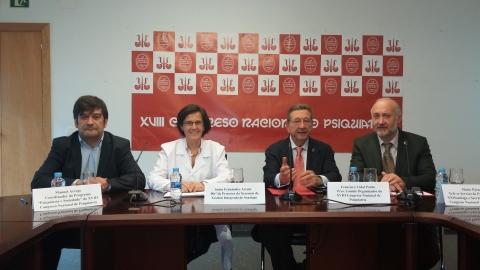 Manuel Arrojo, Sonia Fernández-Arruty, Francisco Vidal y Mario Páramo