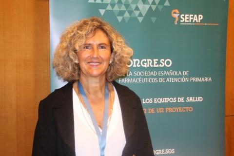 Arantxa Catalán, presidenta de la SEFAP