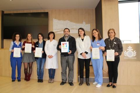El Hospital San Juan de Dios de Santurtzi recibe la certificación en lengua de signos Signa-T