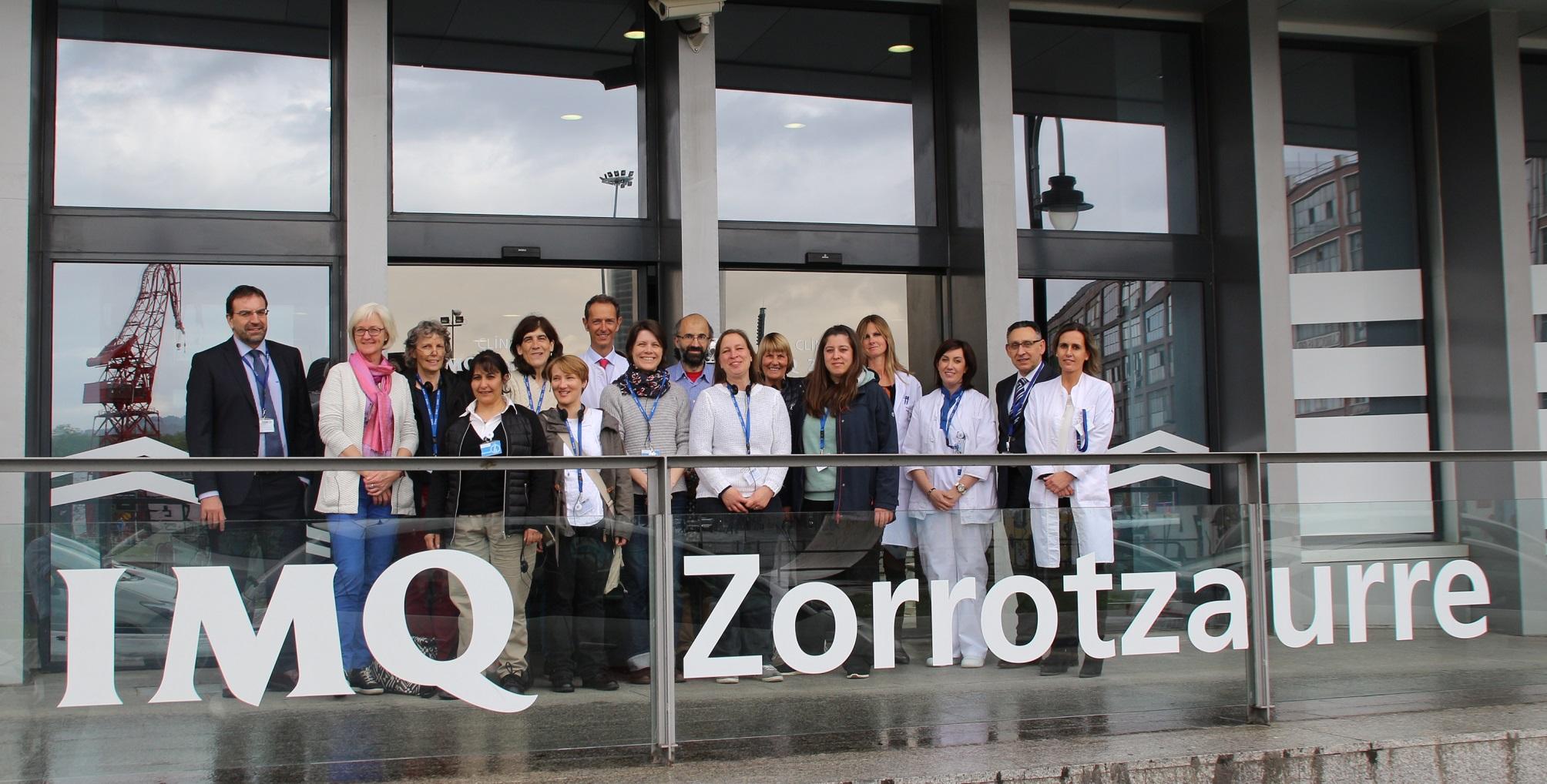 Profesoras de Enfermería y profesionales sanitarias alemanas visitan ...
