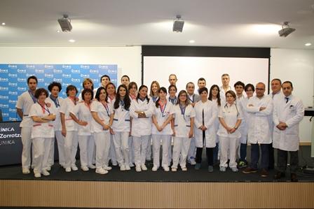 equipo-del-servicio-de-urgencias-de-la-clinica-imq-zorrotzaurre
